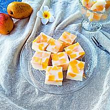 芒果牛奶布丁#嘉宝笑容厨房#