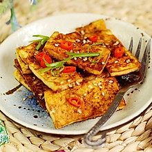 孜然香烤豆腐