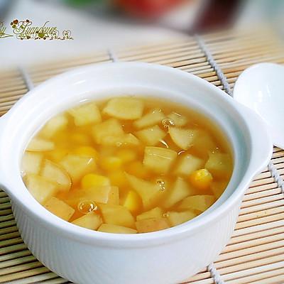 苹果玉米羹