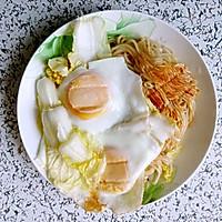 大喜大牛肉粉试用之鸡蛋炒面的做法图解8