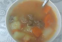 番茄牛腩土豆胡萝卜汤的做法