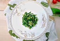 清炒油麦菜嫩心:宝宝辅食营养食谱菜谱的做法