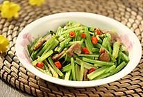 芹菜炒肉丝#舌尖上的春宴#的做法