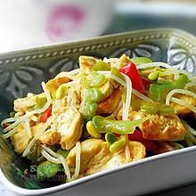 #夏日素食#--苦瓜豆腐