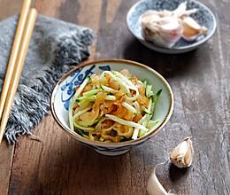黄瓜拌海蜇皮的做法