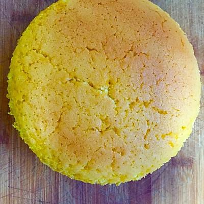 6寸黄油戚风蛋糕