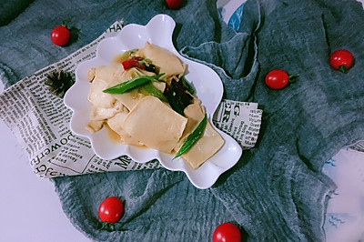 千叶豆腐#做道好菜,自我宠爱!#