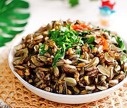 #我们约饭吧# 金不换(九层塔)炒海瓜子的做法