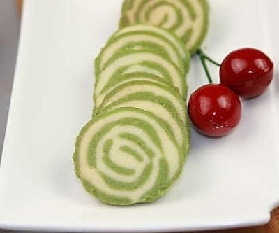 【番茄配方】双色抹茶曲奇—— 最爱那点儿抹茶绿