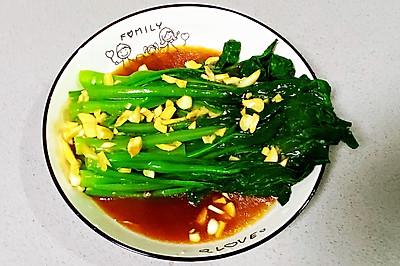 【孕妇食谱】蚝油菜心,绿色健康,爽口又下饭~