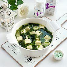 孕期补钙就喝它,海带豆腐汤,鲜美嫩滑,长胎不长肉