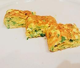 宝宝营养早餐之蔬菜鸡蛋卷的做法
