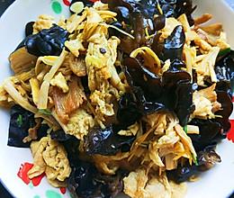 黄花菜木须肉的做法