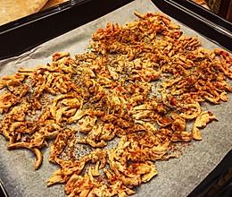 烤箱 鸡胸肉丝的做法