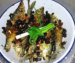 酥软化渣豆豉鱼的做法