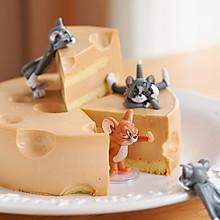 鼠年你最棒-芒果奶酪蛋糕