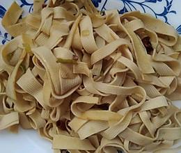 干煸豆腐皮的做法