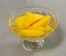 【孕妇食谱】黄桃罐头,清甜可口,零添加更健康,冰镇更爽口哦~的做法