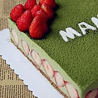 抹茶冻芝士蛋糕的做法图解19