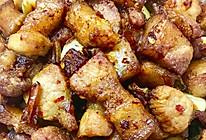 五花肉蒸干豆角的做法