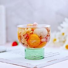 #今天吃什么#桂圆什锦水果花茶热饮