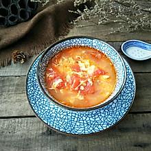 番茄蛋花汤#一人一道拿手菜#