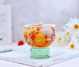 #今天吃什么#桂圆什锦水果花茶热饮的做法