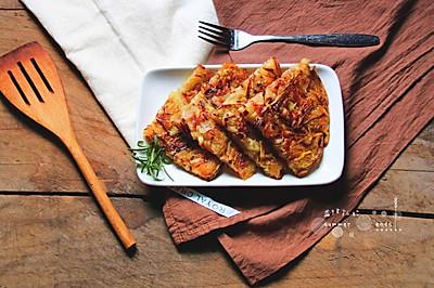土豆韭黄煎饼#金龙鱼外婆乡小榨菜籽油,最强家乡菜#