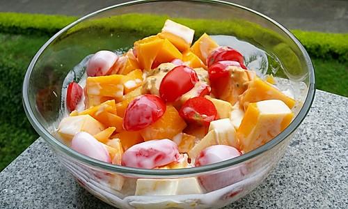 懒人水果沙拉的做法