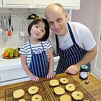 【老皮的亲子厨房】三岁孩子也能独立完成的爱心曲奇的做法图解8