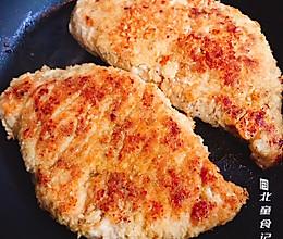 瘦身小吃:椰蓉香煎鸡排的做法