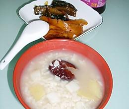 山药大枣生姜粥的做法