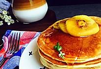 早餐配搭:热松饼,挂耳咖啡的做法