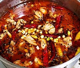 锦娘制——水煮牛蛙的做法