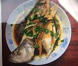 清蒸驴鱼的做法