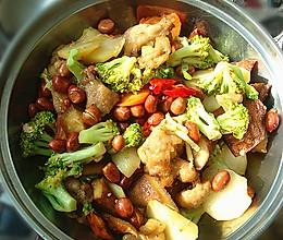 干锅鸡块的做法