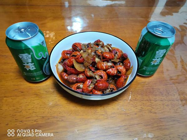 啤酒爆炒龙虾尾的做法