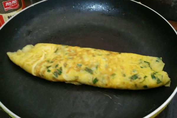 懒人煎葱花蛋烧的做法