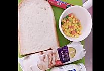 #321沙拉日#金枪鱼牛肉三明治的做法