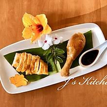 客家盐焗鸡上米其林餐厅是这样摆盘的#人人能开小吃店#