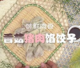 香菇猪肉馅饺子的做法