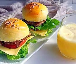 自制汉堡胚(波兰种)的做法