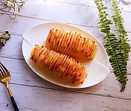 培根风琴土豆的做法