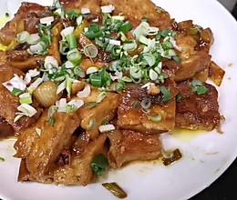 葱油豆腐的做法