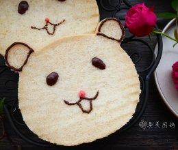萌萌哒奶油吐司#最萌缤纷儿童节#