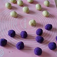 广式紫薯月饼#手作月饼#的做法图解7