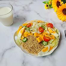 #爽口凉菜,开胃一夏!#芒果藜麦沙拉