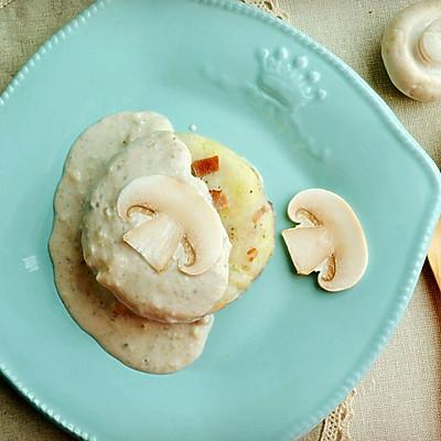 培根蘑菇土豆泥