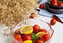 #夏日消暑,非它莫属#酸甜冰爽的话梅番茄的做法