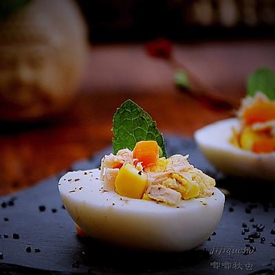 金枪鱼鸡蛋沙拉